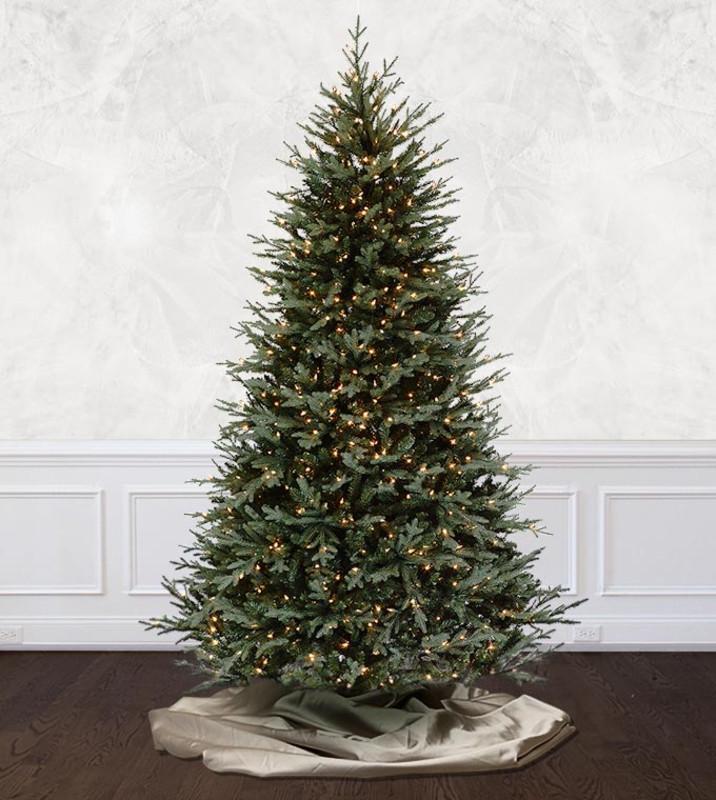 Prelit Christmas Trees