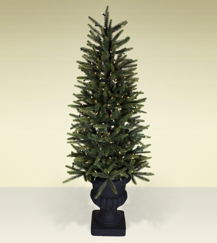 Potted Artificial Christmas Trees