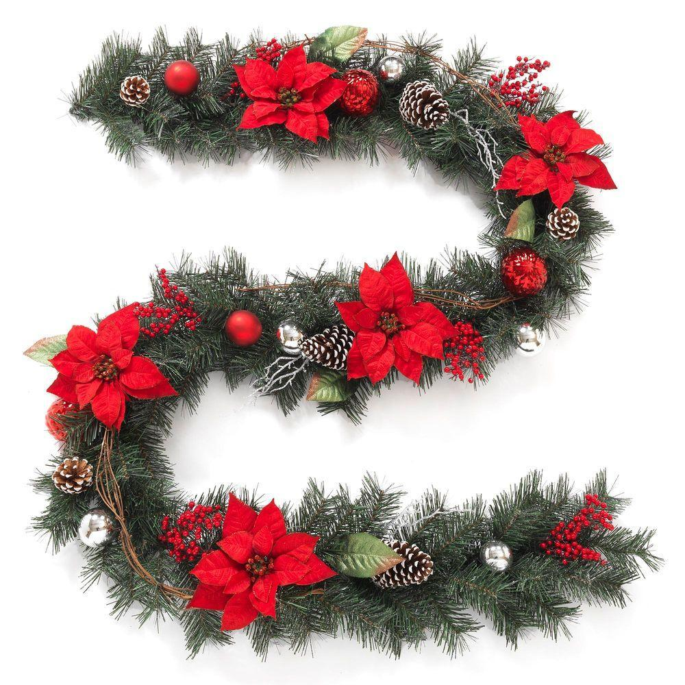 10 ft - 18 ft Christmas Garland