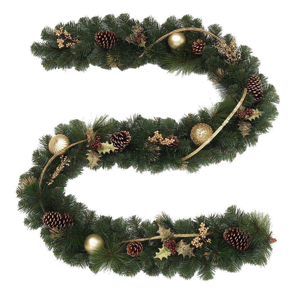 6 ft - 9 ft Christmas Garland