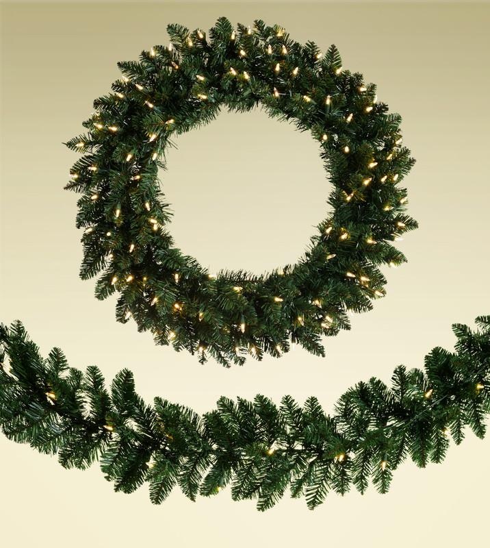 "32"" - 48"" Artificial Christmas Wreaths"