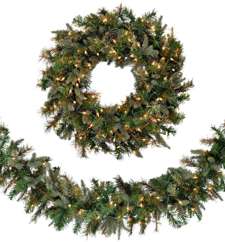 Christmas Wreaths, Garland, & Accents