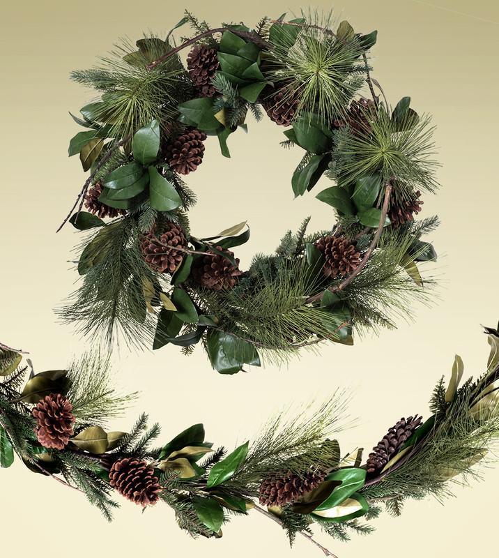 Seasonal Decorative Wreaths