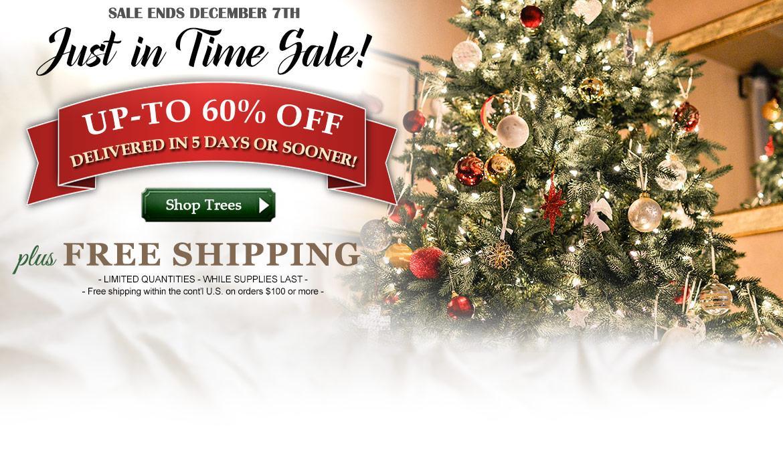 Artificial Christmas Trees - Treetime