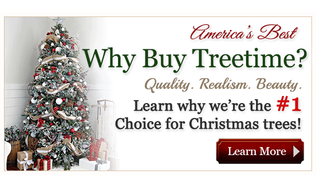 Customers Love us! - Artificial Christmas Trees - Treetime