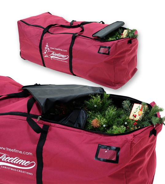 treetime christmas tree rolling duffel bag treetime artificial christmas tree storage - Christmas Tree Bag Storage