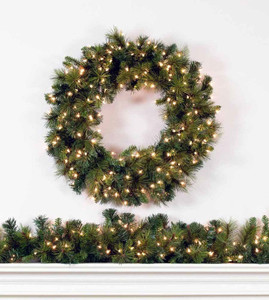 Brighton Pine Wreaths and Garland