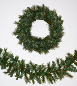 Cashmere Wreaths and Garland