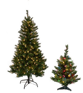 classic - Faux Christmas Trees