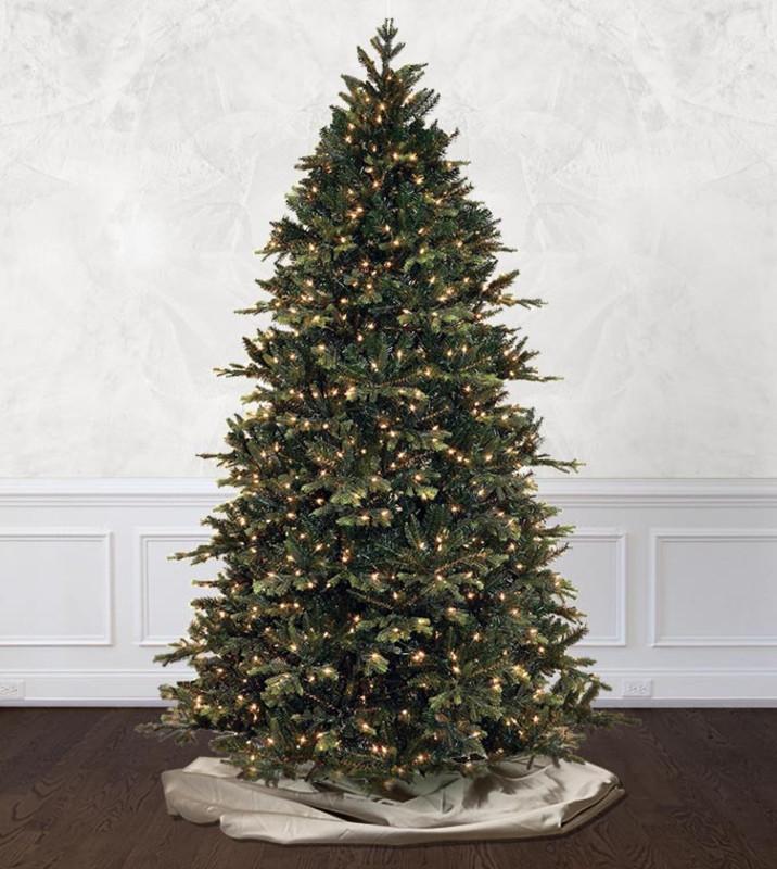 Pre,lit Artificial Christmas Trees