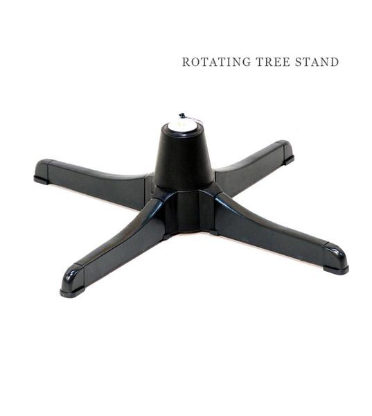 Rotating christmas tree stand treetime for Motorized rotating christmas tree stand