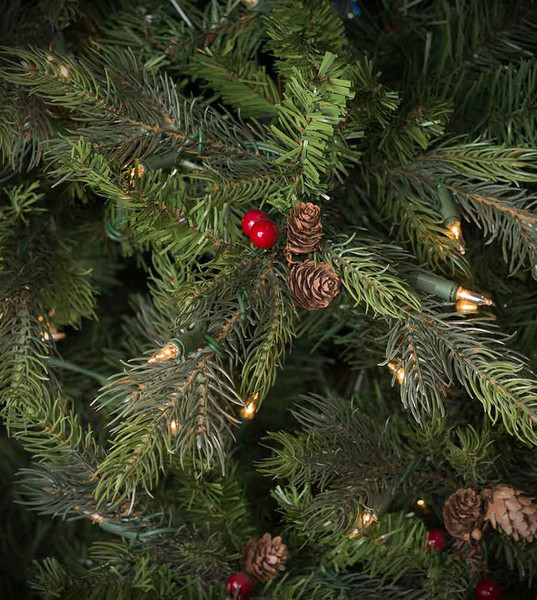 Slim Christmas Tree With Led Lights