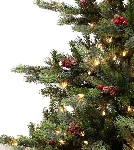 Real Flocked Christmas Trees On Sale