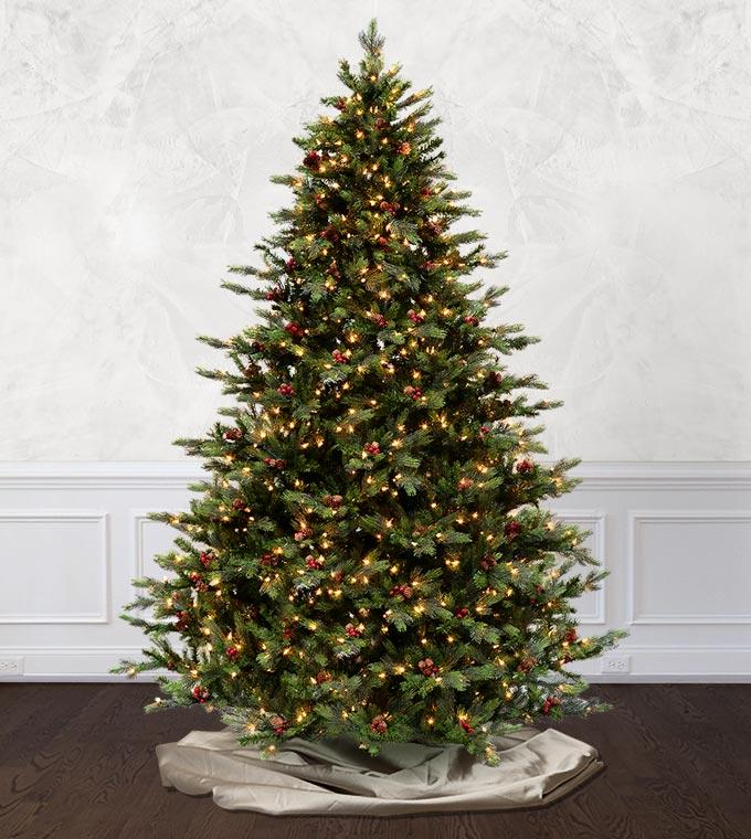 Santa Fe Fir Artificial Christmas Trees Classics Collection Treetime