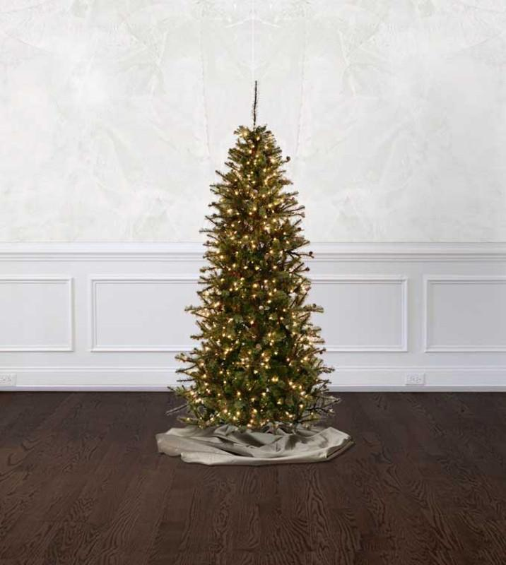 slim rustic pine artificial christmas tree treetime - Rustic Artificial Christmas Tree