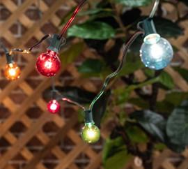 Transparent G40 Multi Color Light String