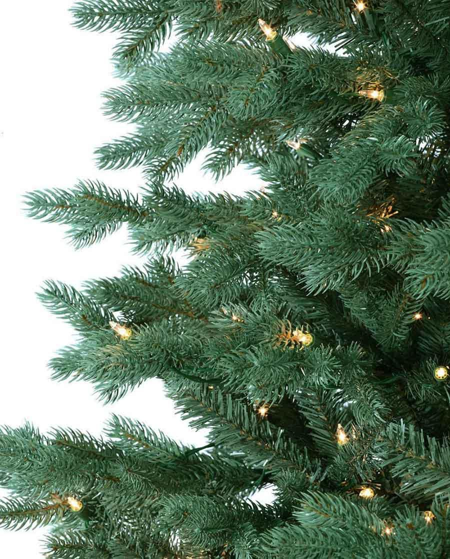 deluxe emerald vermont spruce artificial christmas trees platinum collection - Blue Spruce Artificial Christmas Tree