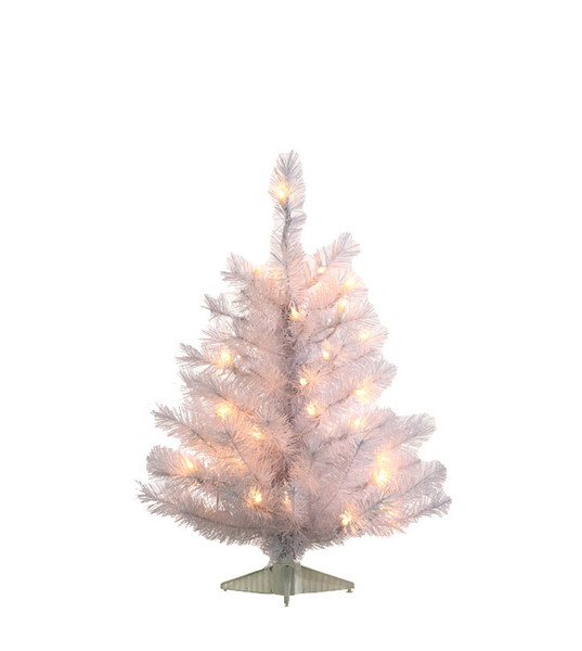 Potted Christmas Trees For Sale: White Colorado Spruce Artificial Christmas Trees