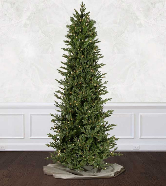 Artificial Christmas Trees Clearance: The Alberta Fir Slim Artificial Christmas Tree