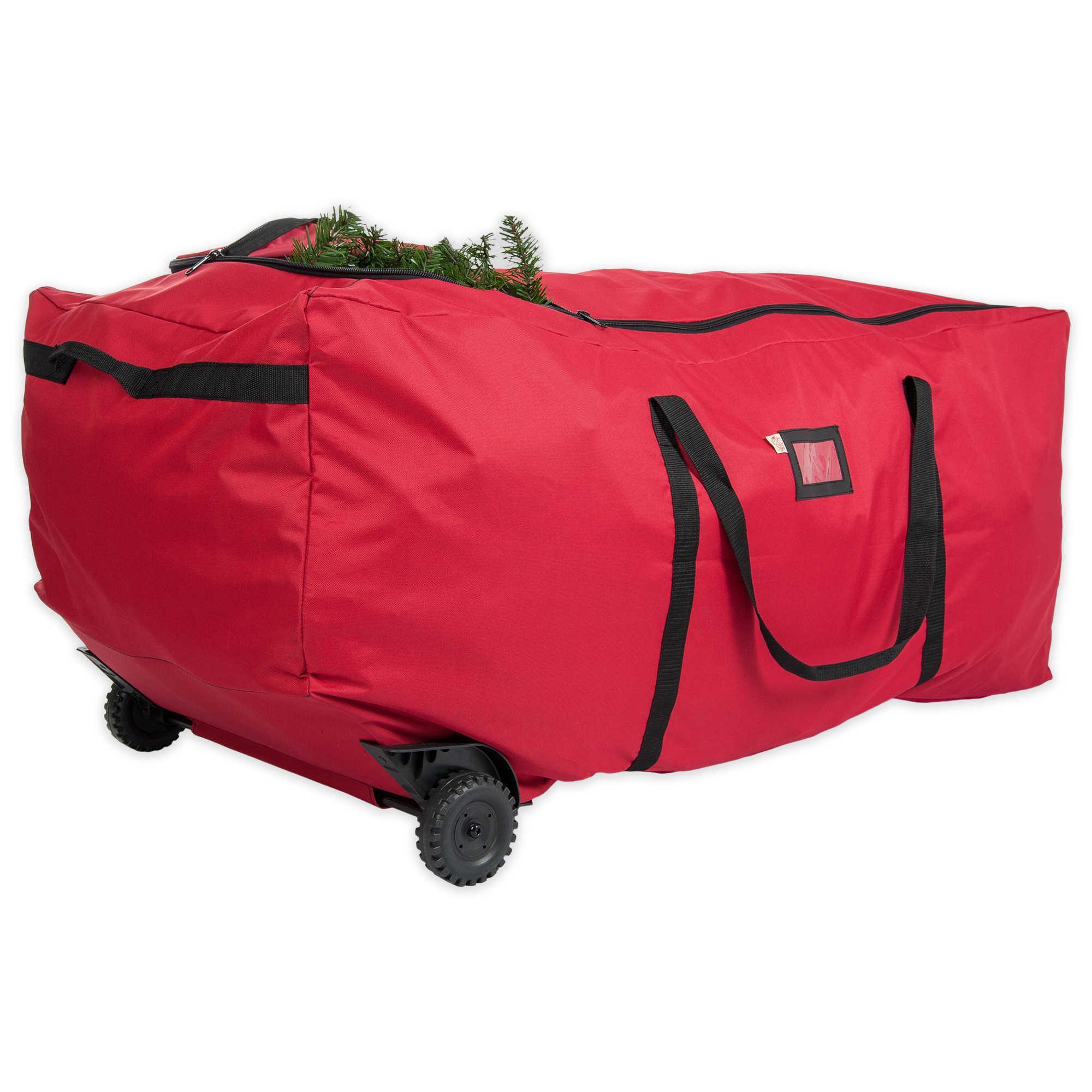 treetime christmas tree ez rolling duffel bag tree storage - Rolling Christmas Tree Storage Bag