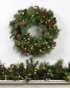 Berry Pine Wreaths & Garland