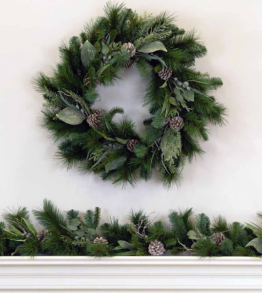 Bodega Bay Wreath and Garland