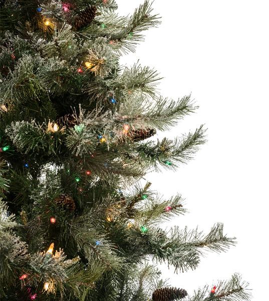 Scotch Pine Christmas Tree.Dusted Scotch Pine Artificial Christmas Trees Classics
