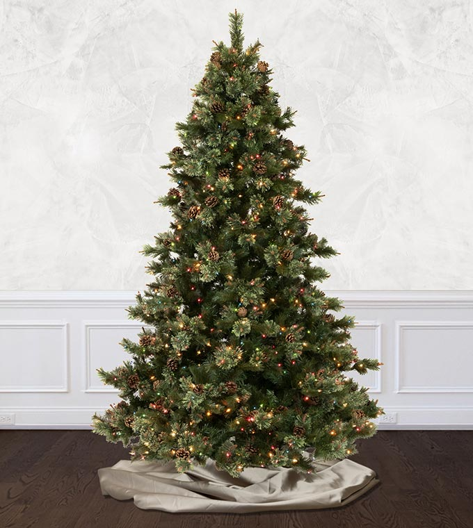 Fairfield Pine Artificial Christmas Trees Treetime Classics Collection