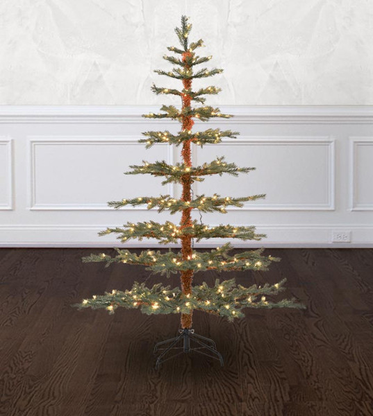 Fanfare fir artificial christmas trees treetime designer for Small designer christmas trees