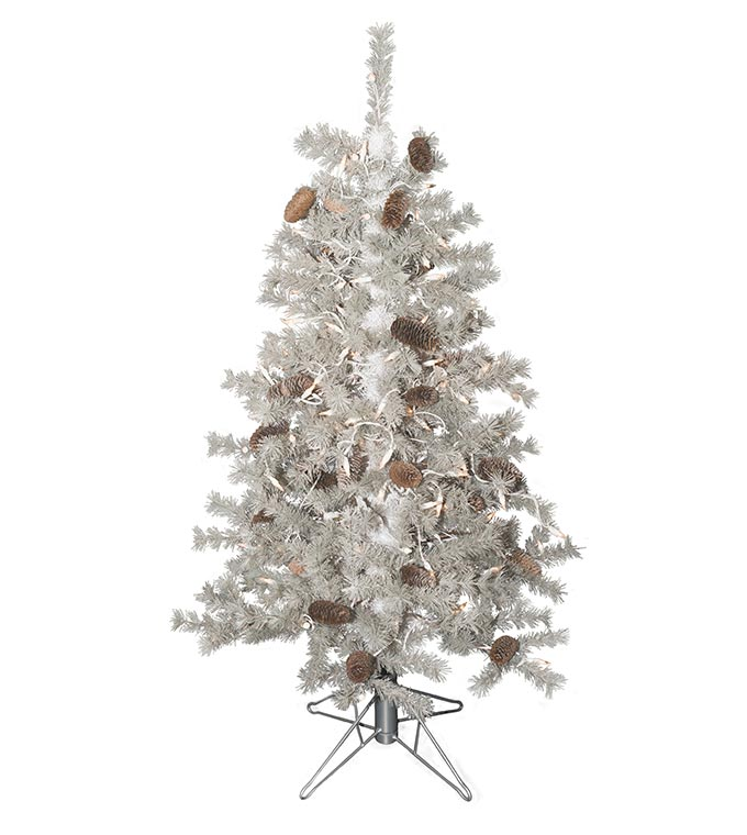 The Frosted Sage Artificial Christmas Trees - Treetime