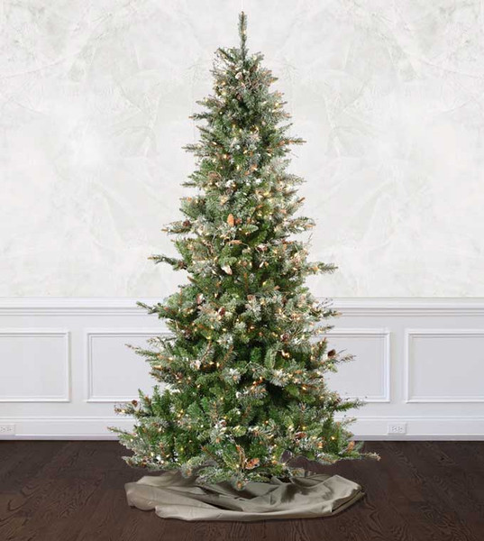 frosted virginia pine - Artificial Christmas Tree