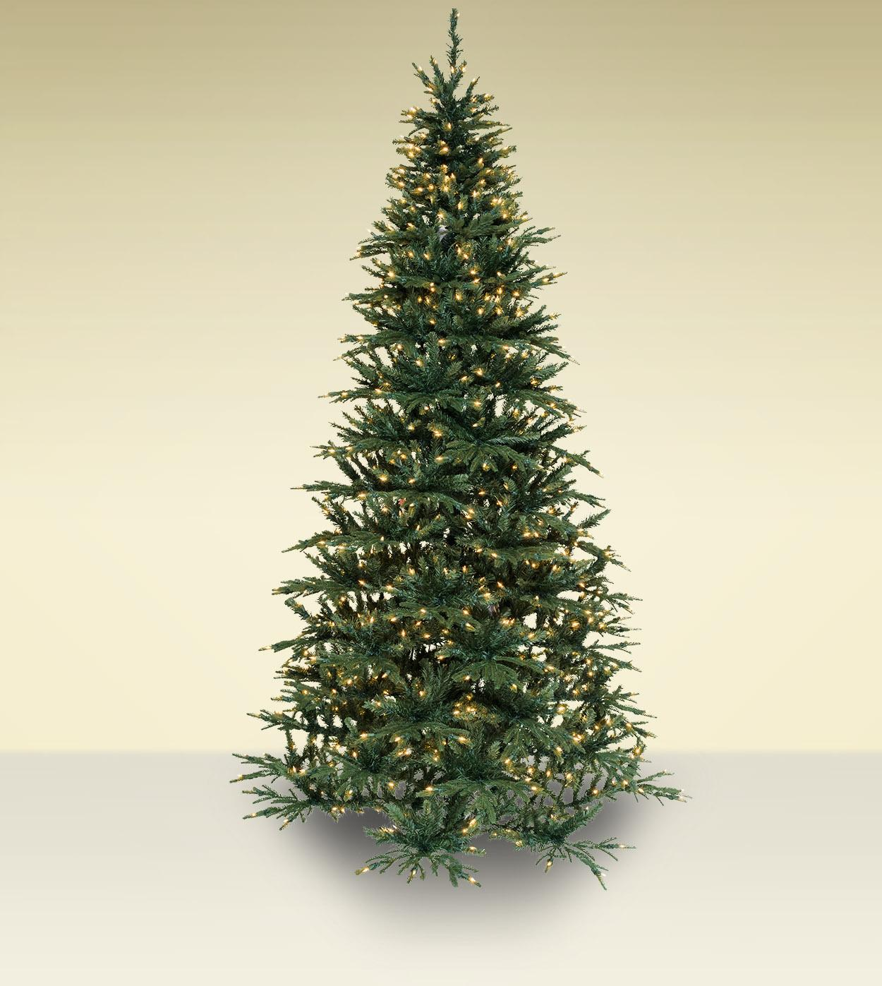 Norway Fir Artificial Christmas Trees - Treetime