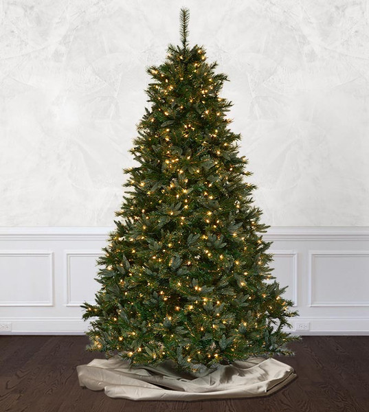 classic - Fully Decorated Artificial Christmas Trees