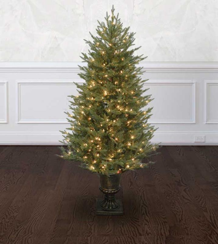 Artificial Christmas Tree Sizes.Potted Cumberland Fir Artificial Christmas Trees Treetime