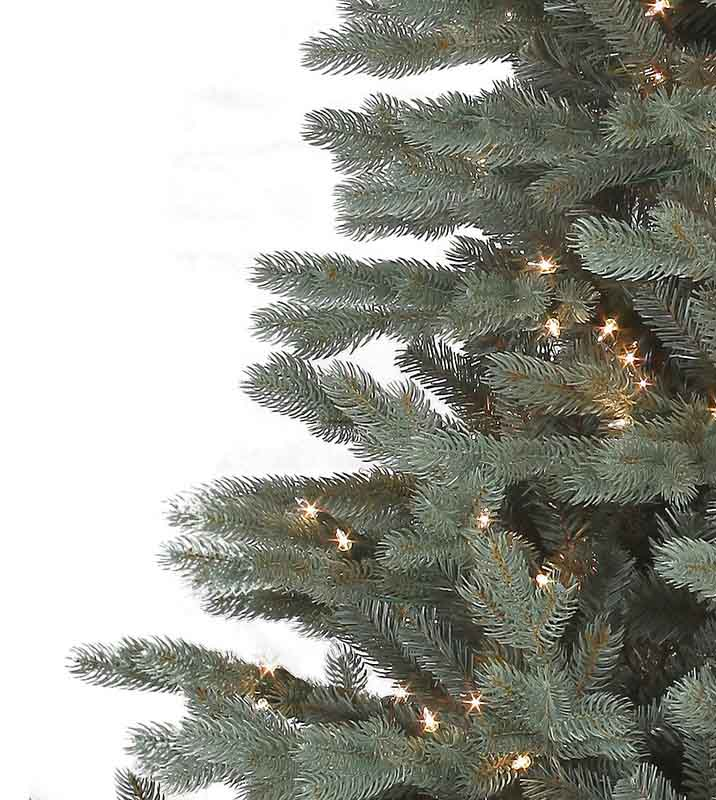Savoy Blue Spruce Artificial Christmas Trees Platinum Collection