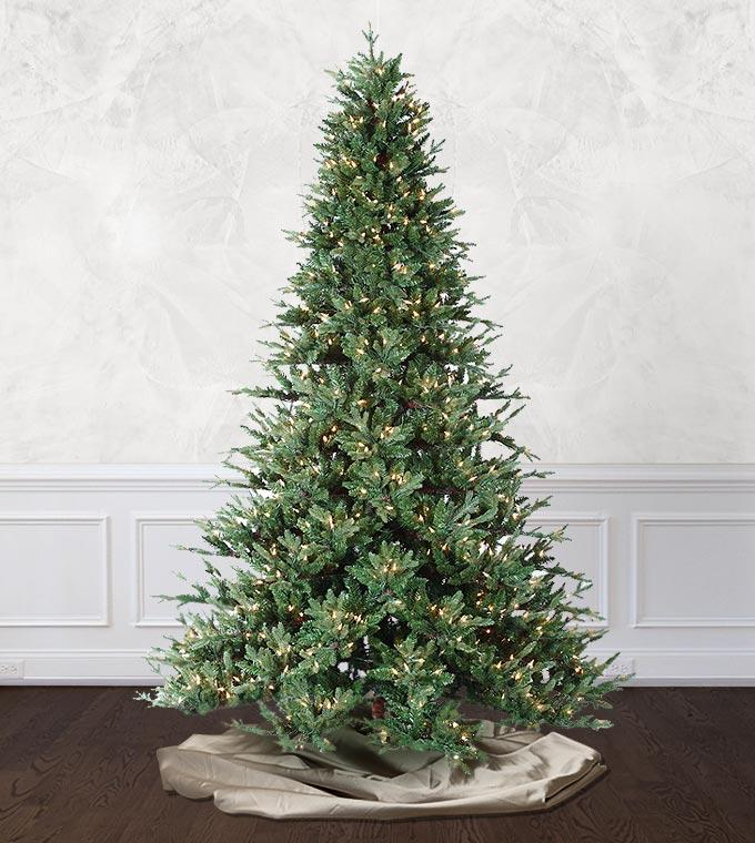 Silverbell Fir Artificial Christmas Trees Treetime Classics Collection