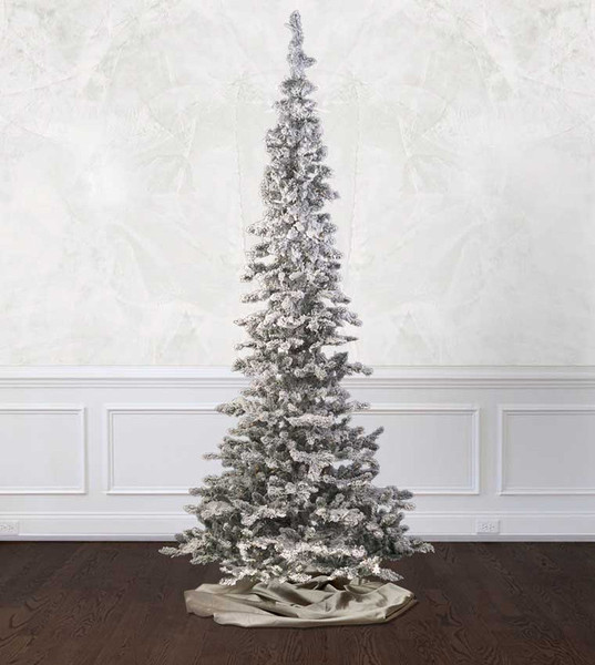 Flocked Snow Belle Artificial Christmas Trees - Treetime