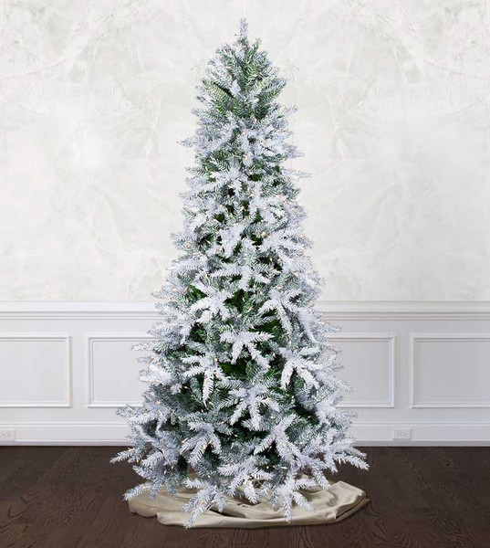 Where To Buy A Nice Artificial Christmas Tree: Snowy Mirage Fir Artificial Christmas Trees