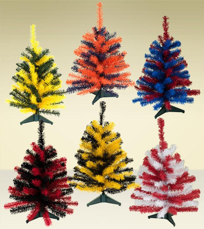 Team Colored Sports Artificial Christmas Trees Treetime
