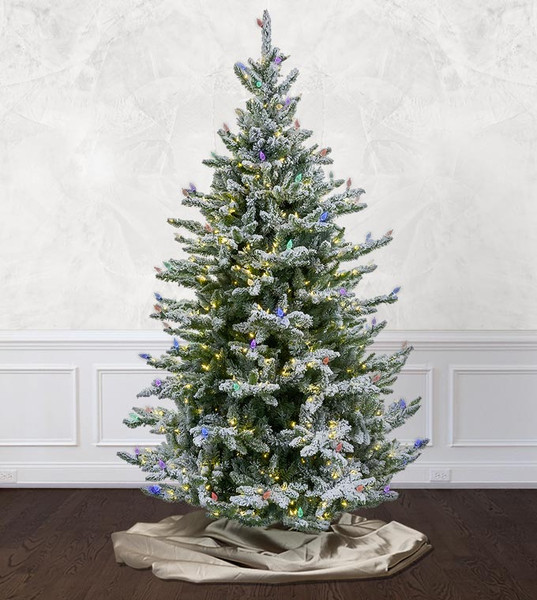 Pre Lit Artificial Christmas Trees Treetime
