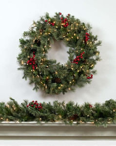 Timberline Wreath & Garland