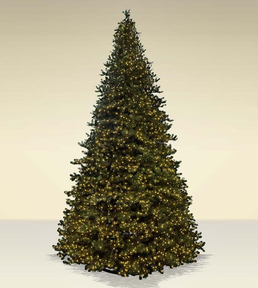 commercial tower artificial christmas trees treetime classics collection