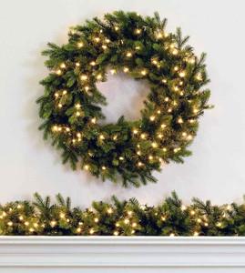 Wexford Spruce Wreaths & Garland
